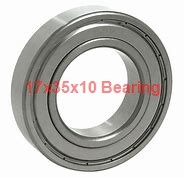 17 mm x 35 mm x 10 mm  NTN EC-6003 deep groove ball bearings