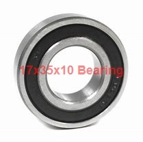 17 mm x 35 mm x 10 mm  NSK 6003T1XVV deep groove ball bearings