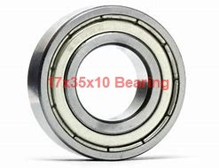 17 mm x 35 mm x 10 mm  NACHI 7003DT angular contact ball bearings