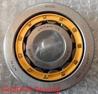 30 mm x 90 mm x 23 mm  ISB NJ 406 cylindrical roller bearings