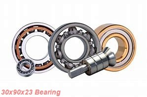 30 mm x 90 mm x 23 mm  ISO N406 cylindrical roller bearings