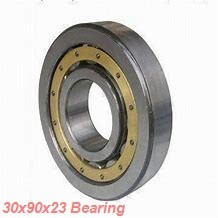 30 mm x 90 mm x 23 mm  ISB NU 406 cylindrical roller bearings