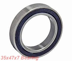 35 mm x 47 mm x 7 mm  NSK 6807VV deep groove ball bearings