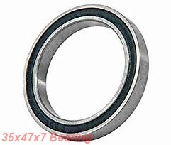 35 mm x 47 mm x 7 mm  NACHI 6807NR deep groove ball bearings