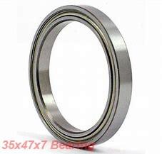 35 mm x 47 mm x 7 mm  ZEN S61807 deep groove ball bearings