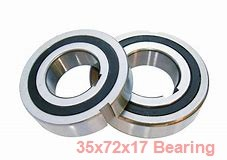 35 mm x 72 mm x 17 mm  NACHI 7207AC angular contact ball bearings