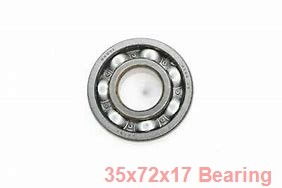 35 mm x 72 mm x 17 mm  NTN 6207LLU deep groove ball bearings