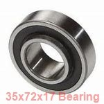 35 mm x 72 mm x 17 mm  SKF SS7207 CD/HCP4A angular contact ball bearings