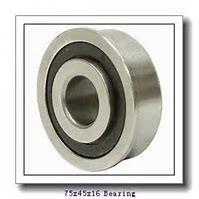45 mm x 75 mm x 16 mm  SKF 7009 CB/HCP4A angular contact ball bearings