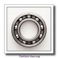45 mm x 75 mm x 16 mm  SKF 7009 ACB/P4A angular contact ball bearings