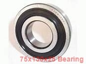 75 mm x 130 mm x 25 mm  NSK 7215BEA angular contact ball bearings