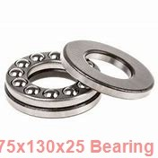 75 mm x 130 mm x 25 mm  SKF 6215/VA201 deep groove ball bearings