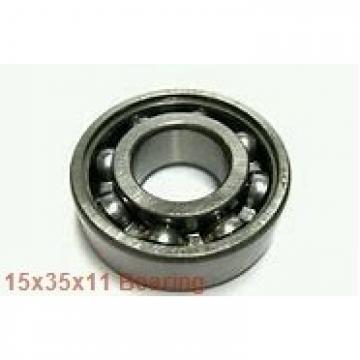 15 mm x 35 mm x 11 mm  NSK 6202 deep groove ball bearings