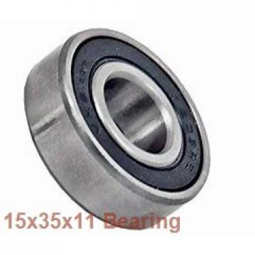 15 mm x 35 mm x 11 mm  NSK 15BGR02X angular contact ball bearings