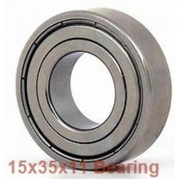 15 mm x 35 mm x 11 mm  NACHI 7202BDB angular contact ball bearings