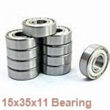 15 mm x 35 mm x 11 mm  Loyal 7202 A angular contact ball bearings