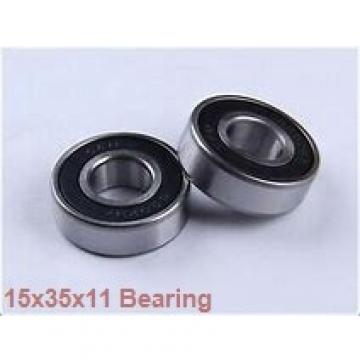 15 mm x 35 mm x 11 mm  KOYO 6202ZZ deep groove ball bearings