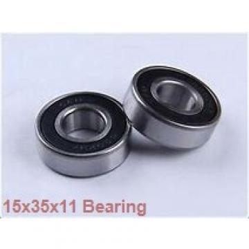 15 mm x 35 mm x 11 mm  NSK 15BGR02H angular contact ball bearings