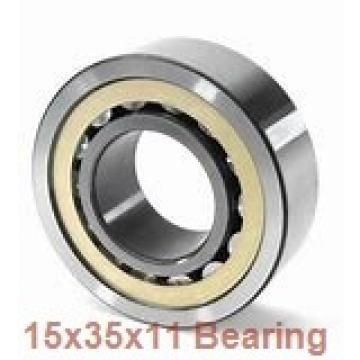 15 mm x 35 mm x 11 mm  NACHI 7202B angular contact ball bearings