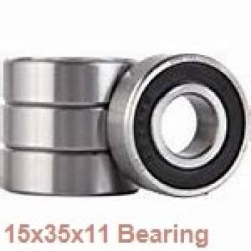 15 mm x 35 mm x 11 mm  NACHI 6202NR deep groove ball bearings