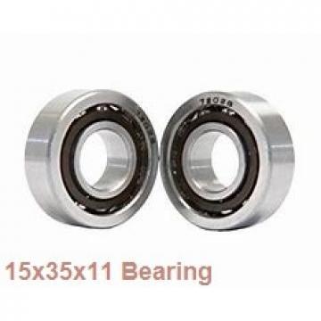 15 mm x 35 mm x 11 mm  Loyal 7202 B angular contact ball bearings