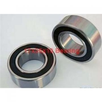 17 mm x 35 mm x 10 mm  ISO 7003 B angular contact ball bearings