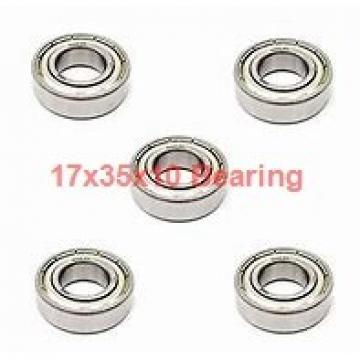 17 mm x 35 mm x 10 mm  NACHI 6003NR deep groove ball bearings