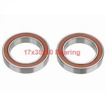 17 mm x 35 mm x 10 mm  NACHI 7003DB angular contact ball bearings