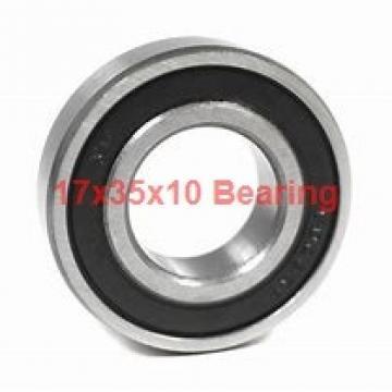 17 mm x 35 mm x 10 mm  Fersa 6003 deep groove ball bearings