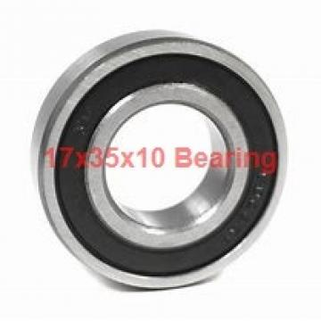 17 mm x 35 mm x 10 mm  KBC 6003DD deep groove ball bearings