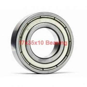 17 mm x 35 mm x 10 mm  ISO 7003 A angular contact ball bearings
