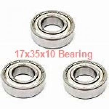 17 mm x 35 mm x 10 mm  NSK 17BGR10S angular contact ball bearings