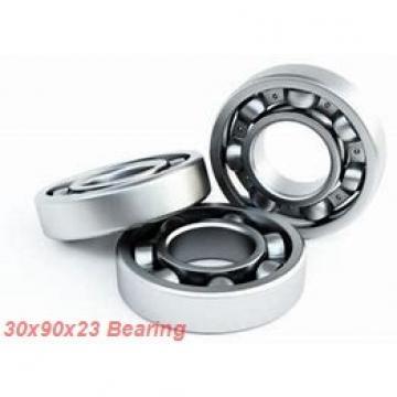 30 mm x 90 mm x 23 mm  KOYO 7406B angular contact ball bearings