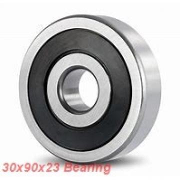 30 mm x 90 mm x 23 mm  Loyal 7406 B angular contact ball bearings