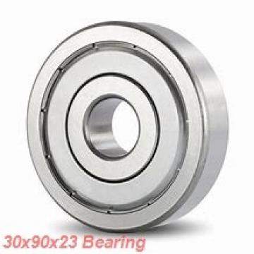 30 mm x 90 mm x 23 mm  NSK NJ 406 cylindrical roller bearings