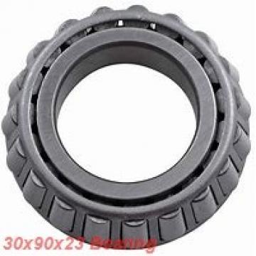 30 mm x 90 mm x 23 mm  ISO 7406 B angular contact ball bearings