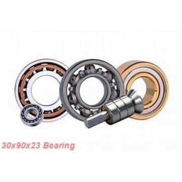 30 mm x 90 mm x 23 mm  Loyal 7406 A angular contact ball bearings