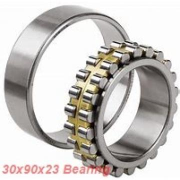 30 mm x 90 mm x 23 mm  ISO 7406 A angular contact ball bearings