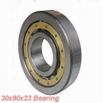 30 mm x 90 mm x 23 mm  ISO NF406 cylindrical roller bearings