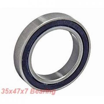 35 mm x 47 mm x 7 mm  NTN 6807N deep groove ball bearings