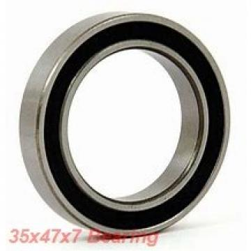 35 mm x 47 mm x 7 mm  NACHI 6807NKE deep groove ball bearings