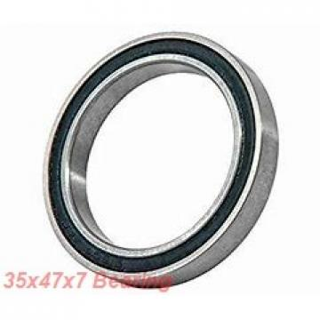 35 mm x 47 mm x 7 mm  NKE 61807-2Z deep groove ball bearings