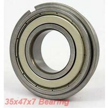 35 mm x 47 mm x 7 mm  NTN 6807LLU deep groove ball bearings