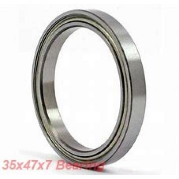 35 mm x 47 mm x 7 mm  SKF 61807-2RZ deep groove ball bearings