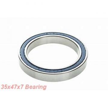35 mm x 47 mm x 7 mm  NACHI 6807ZENR deep groove ball bearings