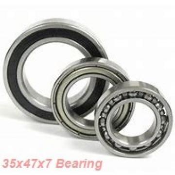 35 mm x 47 mm x 7 mm  ISO 61807 deep groove ball bearings