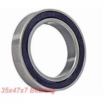 35 mm x 47 mm x 7 mm  ISO 61807 ZZ deep groove ball bearings