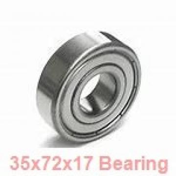 35 mm x 72 mm x 17 mm  NTN 7207CG/GNP42 angular contact ball bearings