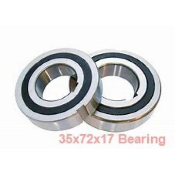 35 mm x 72 mm x 17 mm  NTN 6207N deep groove ball bearings