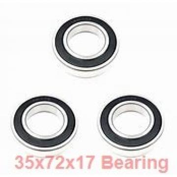 35 mm x 72 mm x 17 mm  Timken 207PP deep groove ball bearings